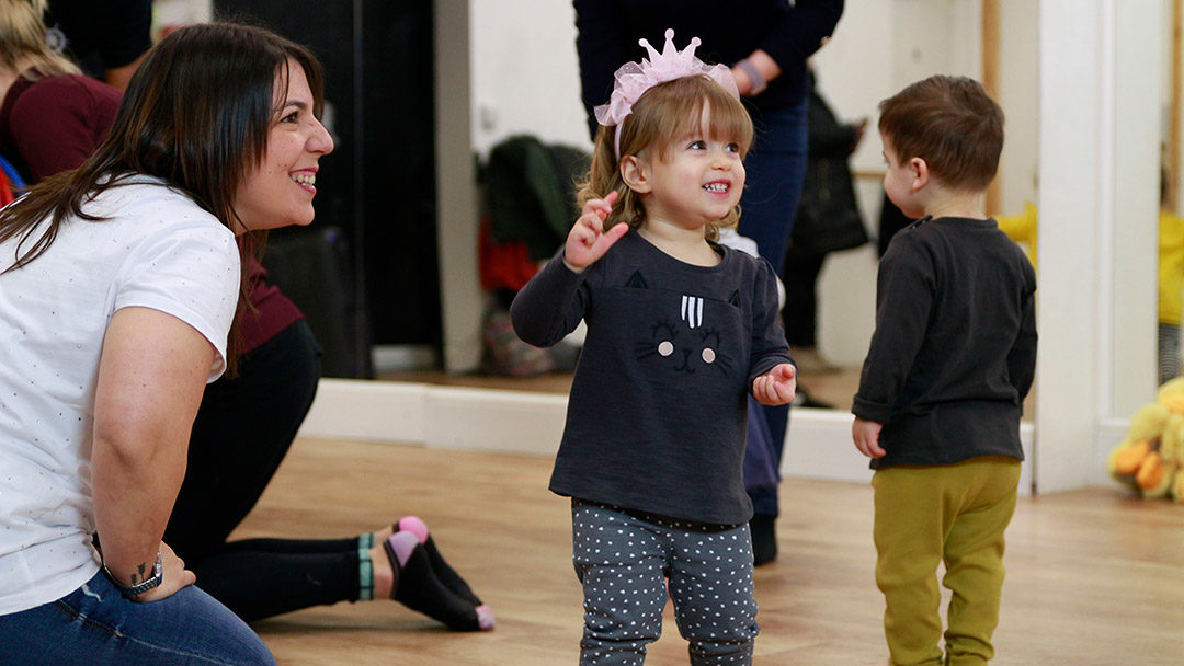 Baby and toddler dance classes in Corstorphine, Edinburgh